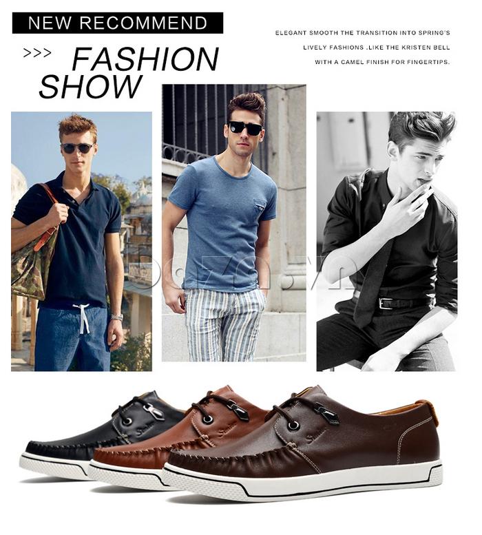 Giày da nam Simier 8116 dẫn đầu phong cách