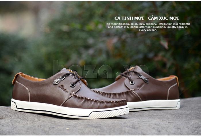Giày da nam Simier 8116 mới lạ