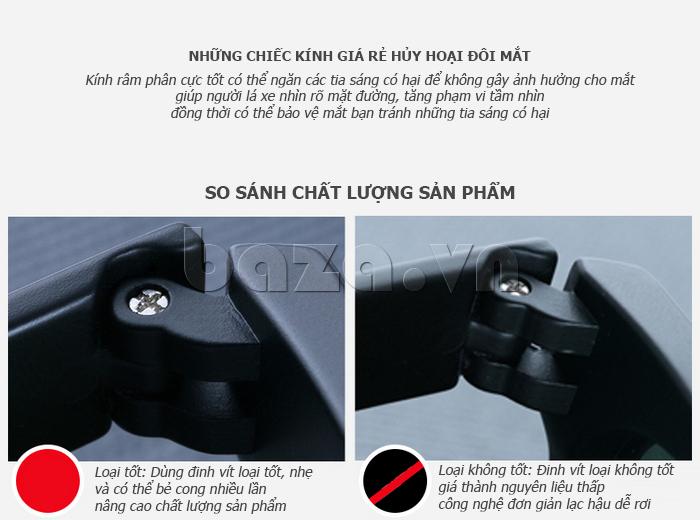 Kính mắt phân cực BLSBlues 15011 - kính mắt lái xe an toàn