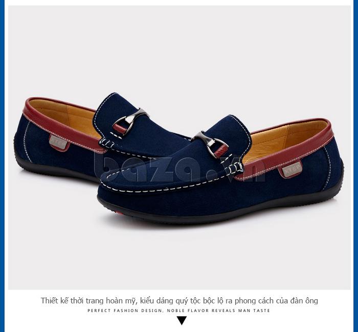 Giày mọi nam phong cách Anh CDD D531