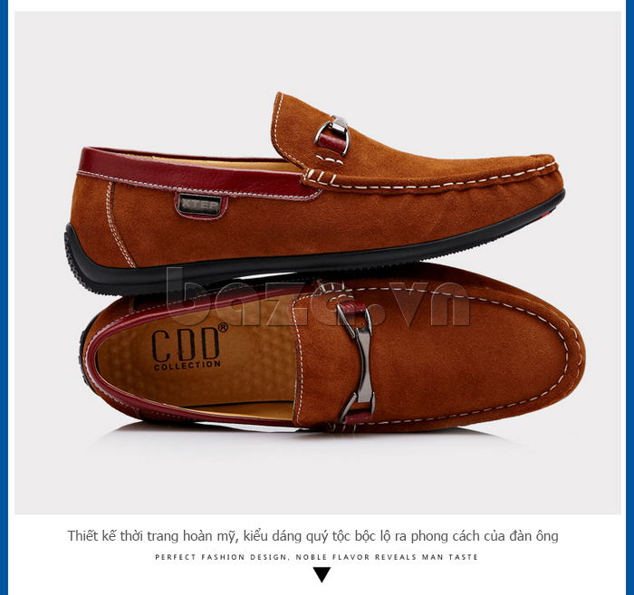 Giày loafers nam cao cấp CDD D531