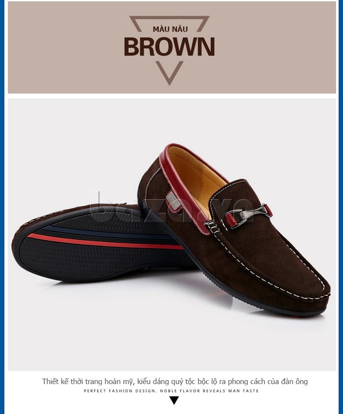 Giày loafers nam xịn CDD D531