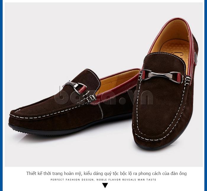 Giày loafers nam mới CDD D531
