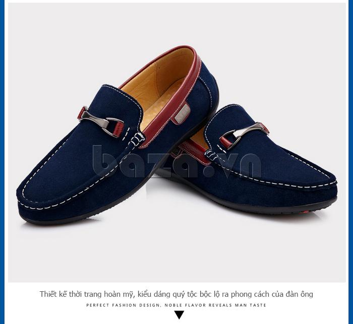 Giày mọi nam đế cao su CDD D531