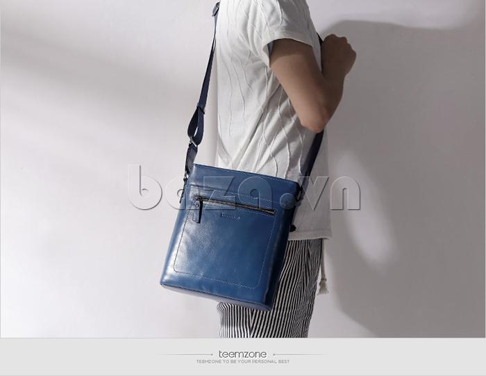 Túi đeo nam nhập khẩu Teemzone T0995