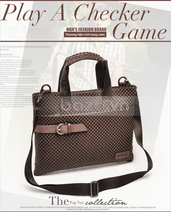 Túi da nam thời trang Teemzone T0531 hot và độc