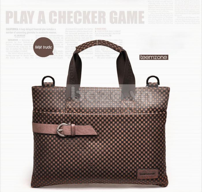 Túi da nam thời trang Teemzone T0531 đẹp và lạ