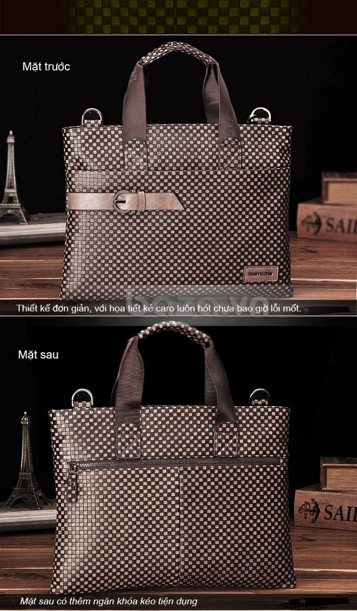 Túi da nam thời trang Teemzone T0531 đẹp