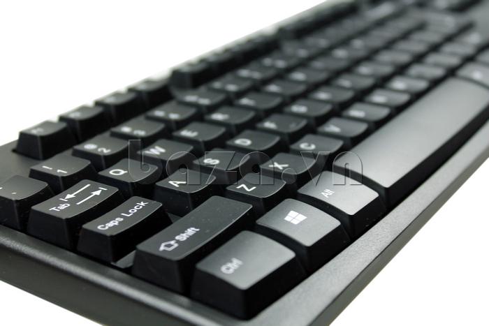 Bàn phím có dây Fuhlen L411 in nổi các con số rõ nét