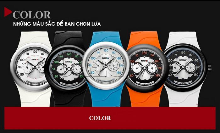 Đồng hồ thời trang Time2U có nhiều màu để lựa chọn