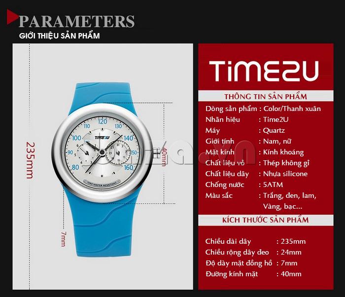 Đồng hồ thời trang Time2U thông tin của sản phẩm
