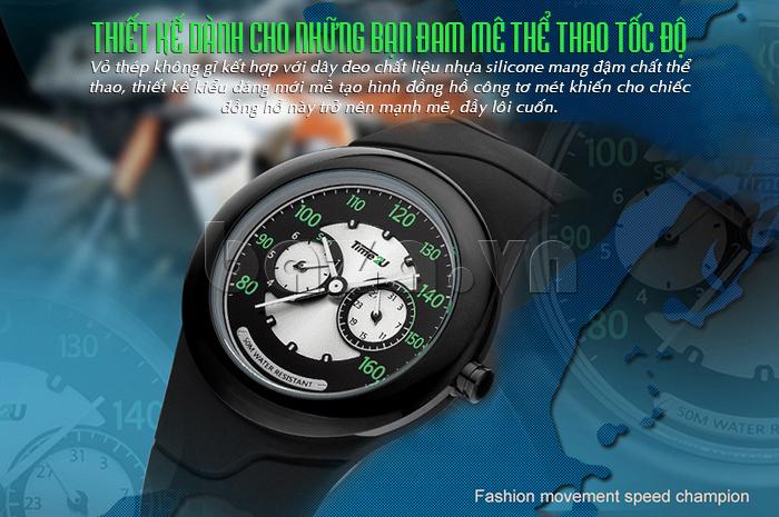 Đồng hồ thời trang Time2U kiểu dáng thể thao