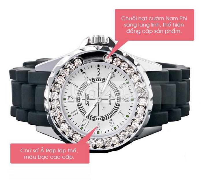Đồng hồ nữ Skmei 0991 chuỗi hạt cườm