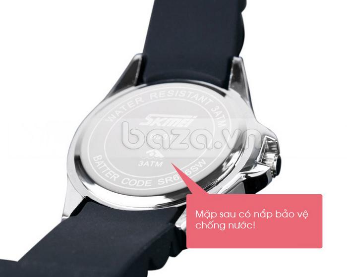 Đồng hồ nữ Skmei 0991 mặt đáy có tem bảo hành