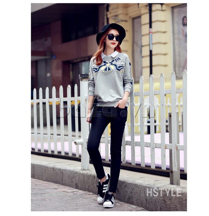 Áo nữ dài tay HStyle NJ4312