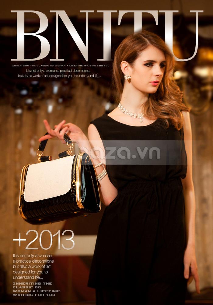 Baza.vn: Túi xách nữ Binnitu phong cách Hàn Quốc vẻ đẹp sang trọng cho các cô gái trẻ trung
