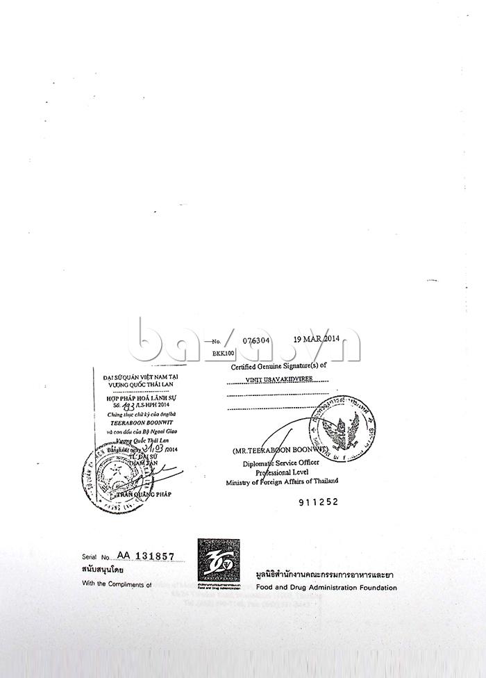 Hệ thống chứng nhận an toàn cho sản phẩm Bao cao su siêu mỏng Durex Fetherlite