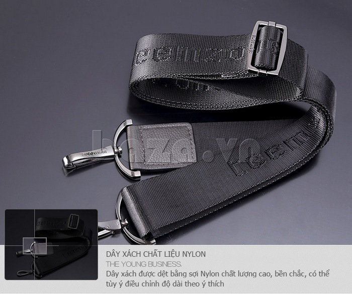 Túi da nam chất đẹp Teemzone T1031