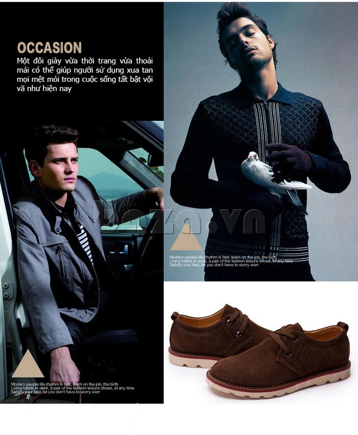 giày nam CDD 233 bộc lộ khí chất của nam giới