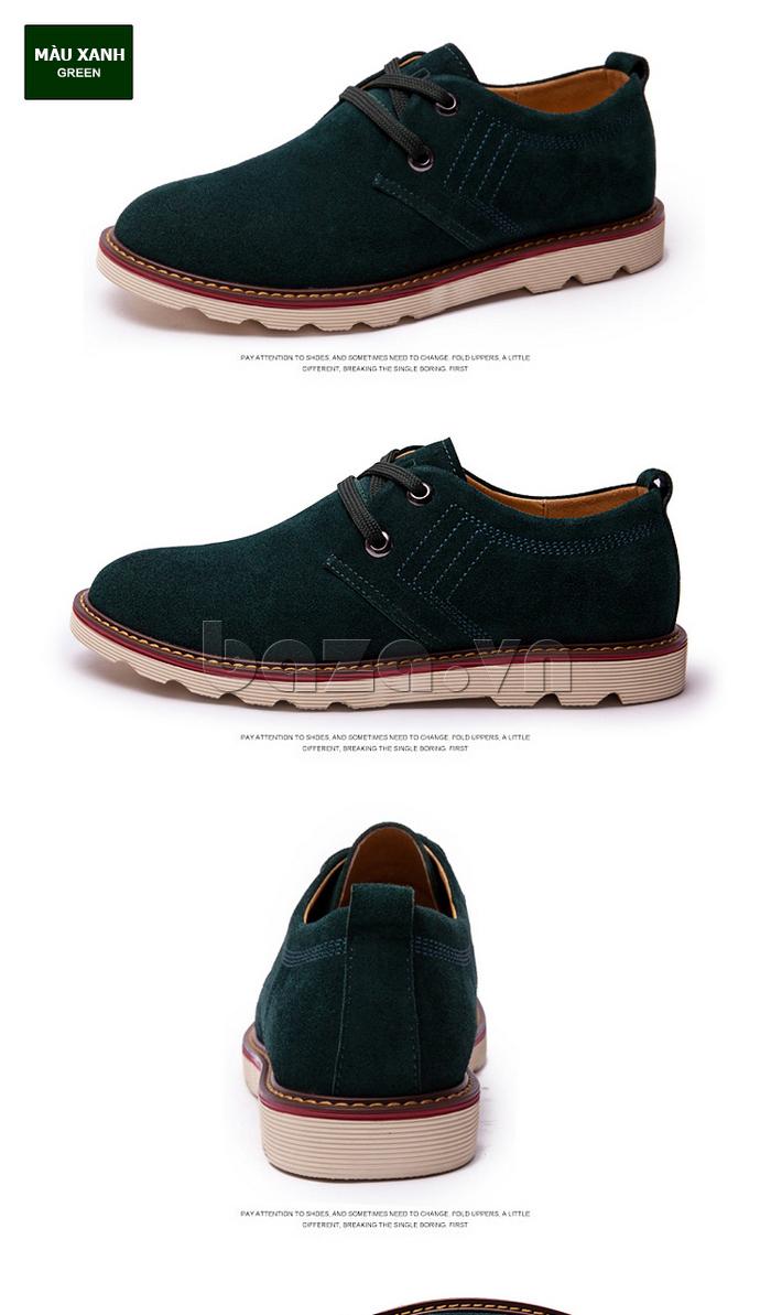 Mặt sau của giày nam CDD 233