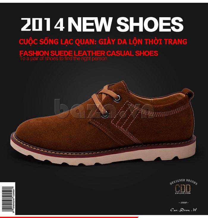 giày nam CDD 233 là món quà ý nghĩa cho bạn trai
