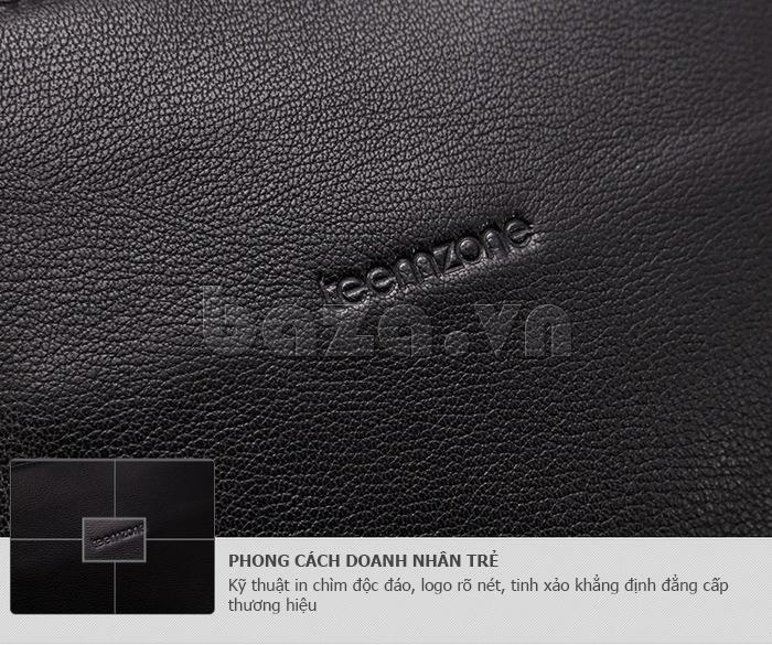 Túi nam thời trang Teemzone T0845 túi da đỉnh cao nghệ thuật