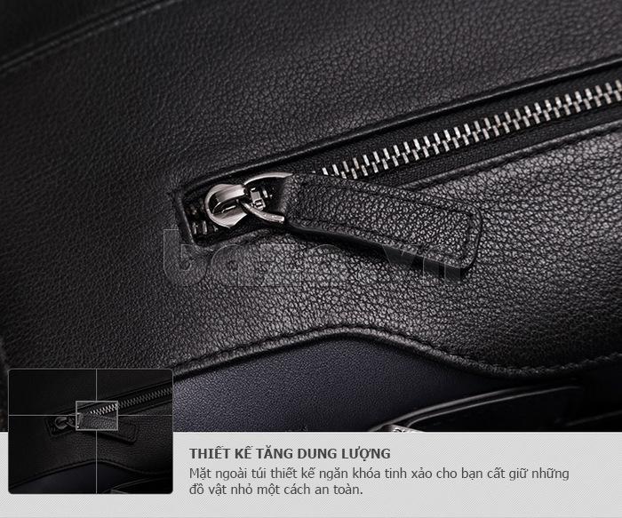 Túi nam thời trang Teemzone T0845 chiếc túi da hot