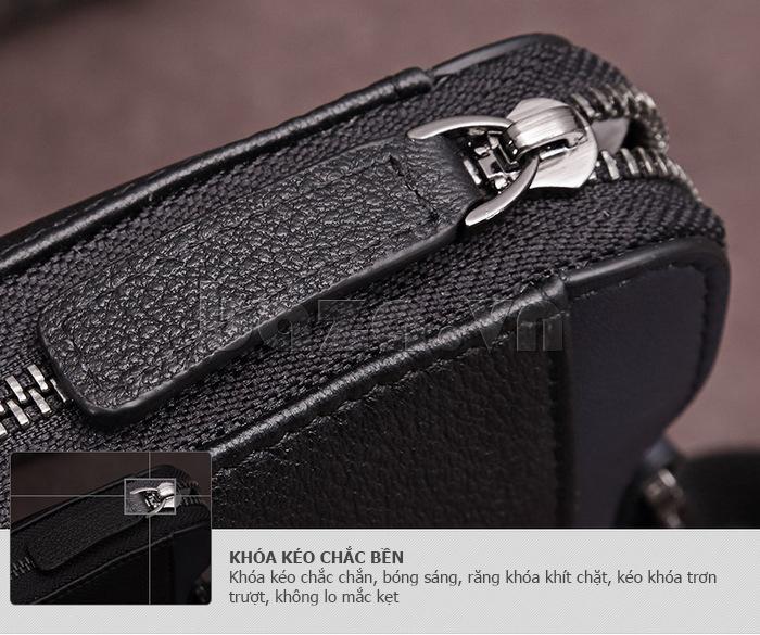 Túi nam thời trang Teemzone T0845 túi da nam tinh tế và hoàn hảo