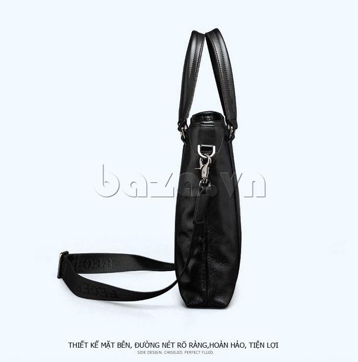 Túi da nam Feger 901-2 phong cách