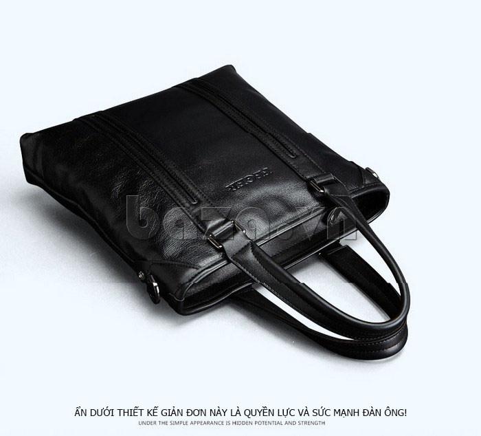 Túi da nam Feger 901-2 năng động