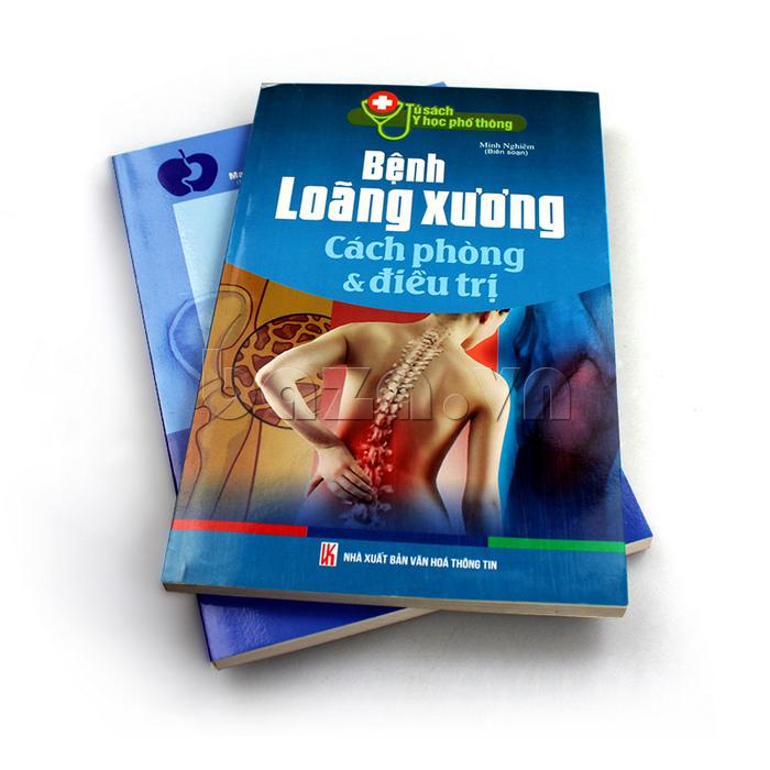 """Sách kiến thức gia đình """"Bệnh loãng xương cách phòng & điều trị"""""""