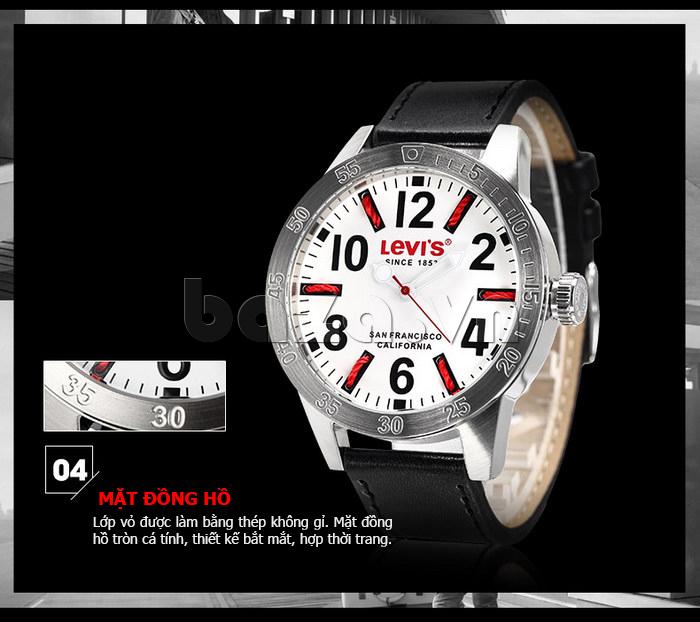 Đồng hồ nam Levis LTG08 số to bản, chống nước hiệu quả phong cách