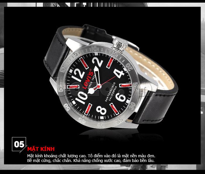 Đồng hồ nam Levis LTG08 số to bản, chống nước hiệu quả cá tính