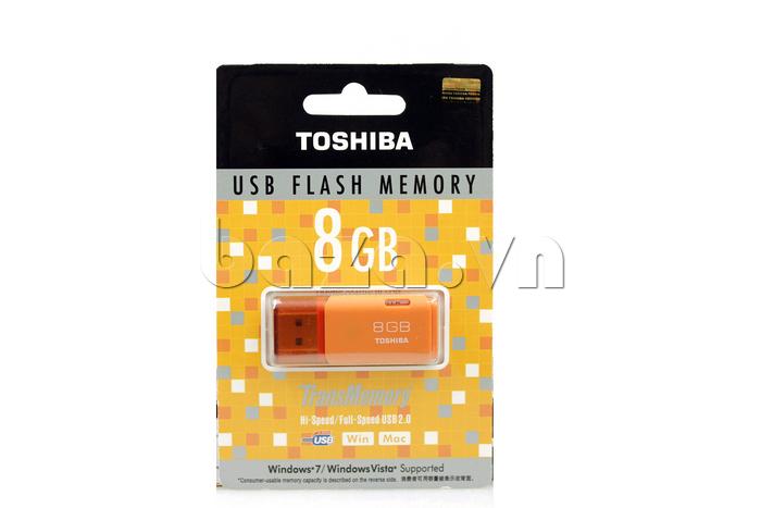 USB Toshiba Hayabusa 8GB giúp bạn hoàn thành công việc dễ dàng