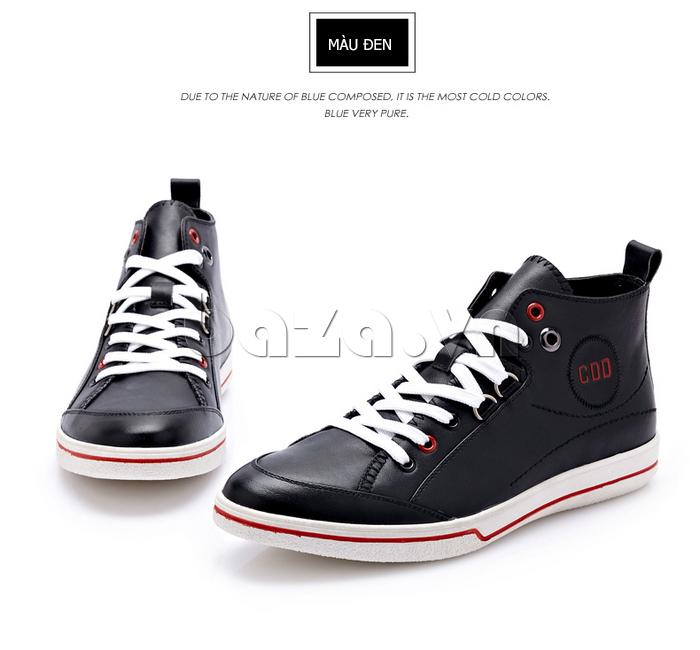 Thiết kế giày thể thao buộc dây tiện lợi cho nam giới