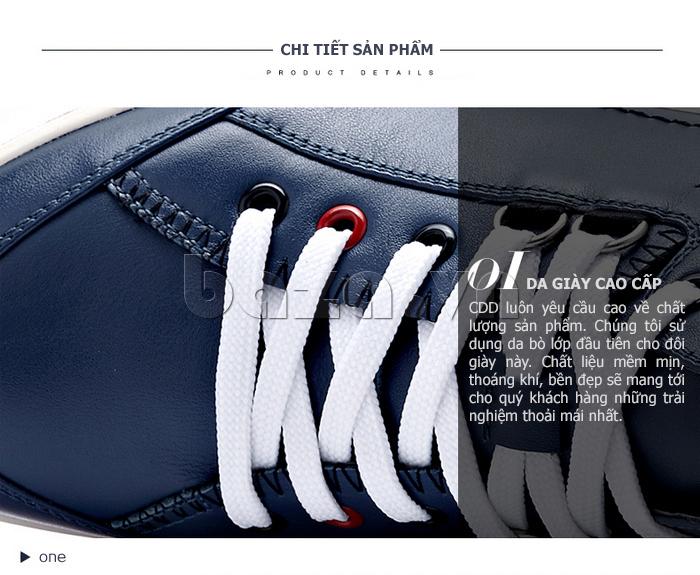 CDD luôn yêu cầu cao về chất lượng từng đôi giày làm ra