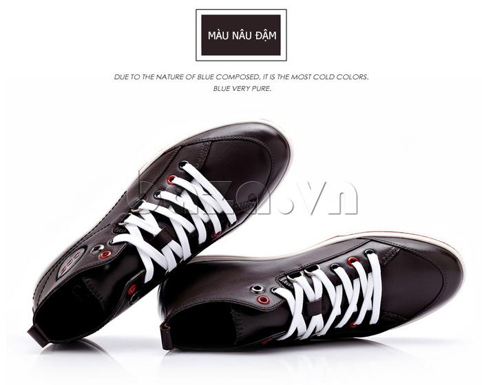 Giày nam thể thao CDD luôn có độ thoải mái cao mà vẫn ôm chân