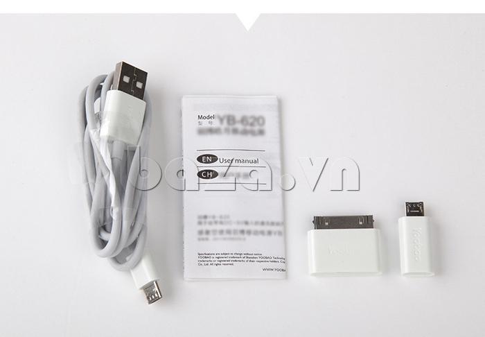 Pin dự phòng di động 3400mA Yoobao YB620 chính hãng