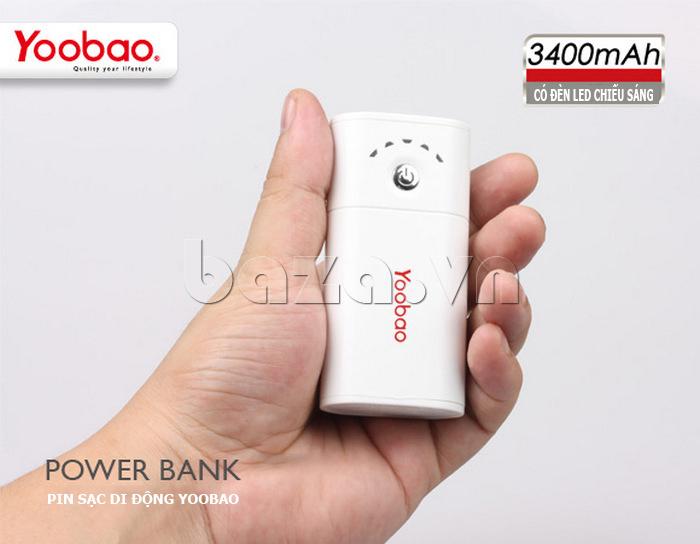 Pin dự phòng di động 3400mA Yoobao YB620 đẹp