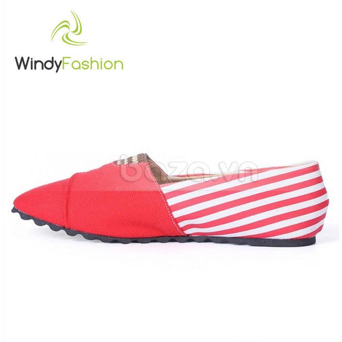 Giày Vải Jeans Phối Da Nữ Windy WD002 độc