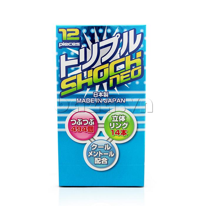Bao cao su Fuji Shock Neo - chăm sóc sức khỏe tình dục cho bạn