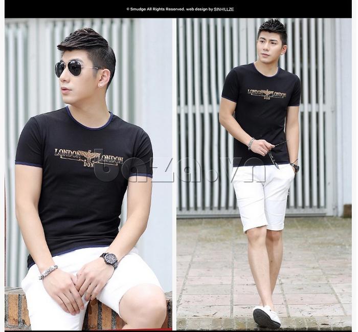 Áo T-Shirt nam cá tính Sinhillze 211