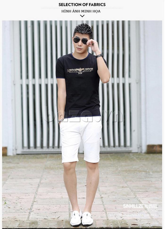 Áo T-Shirt nam Sinhillze 211