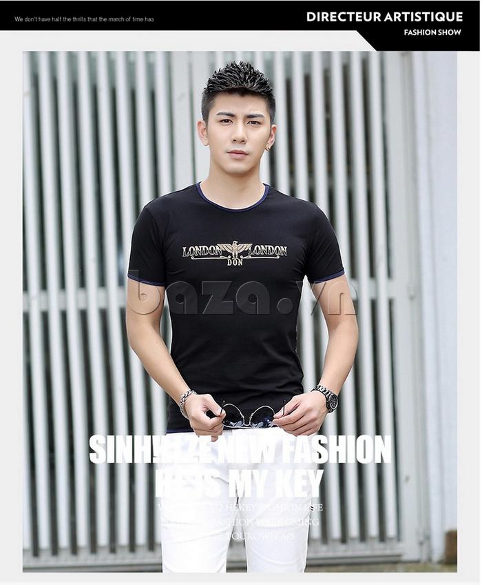 Áo T-Shirt nam cổ tròn Sinhillze 211