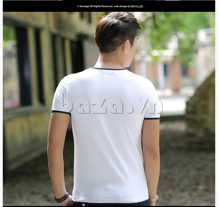Mặt sau Áo T-Shirt nam Sinhillze 211