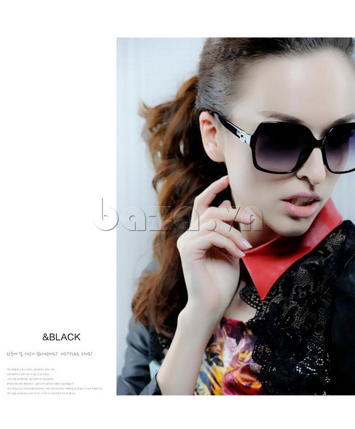 Kính nữ phân cực MSMK 3928 - thời trang