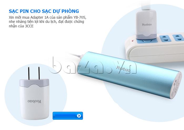 Pin dự phòng di động 10400mA Yoobao YB-6014 hoàn hảo