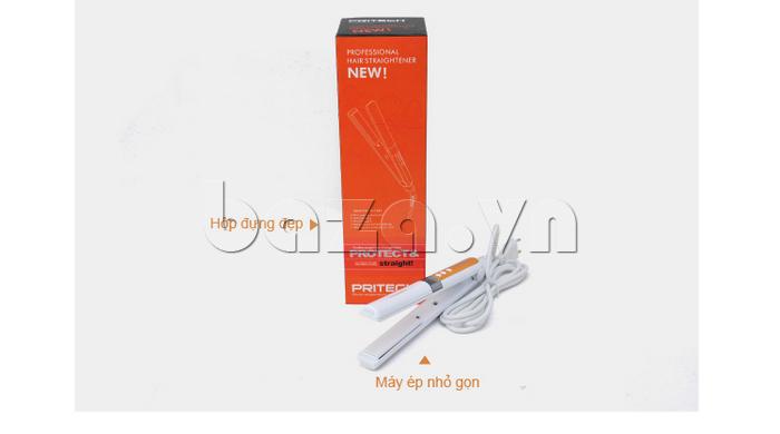 Máy là tóc công nghệ cao Pritech TA-1035 nhỏ gọn, tiện lợi