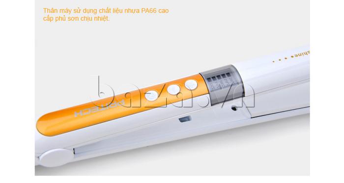 Máy là tóc công nghệ cao Pritech TA-1035 thiết kế thân máy làm bằng nhựa cao cấp