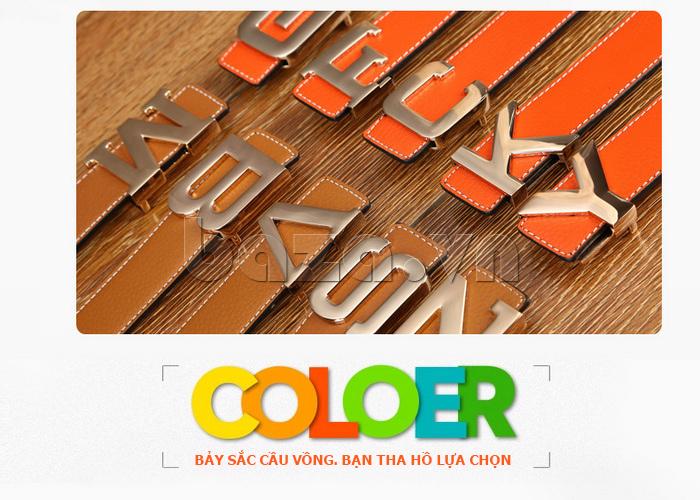 Dây lưng nam Feayoo FY-D082 nhiều màu sắc đa dạng